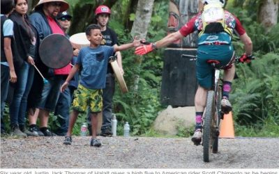 Interview with Matt – Stop on BC Bike Race