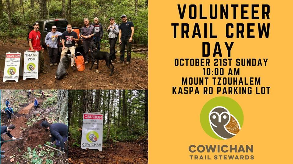 CTSS Volunteer Trail Crew Day